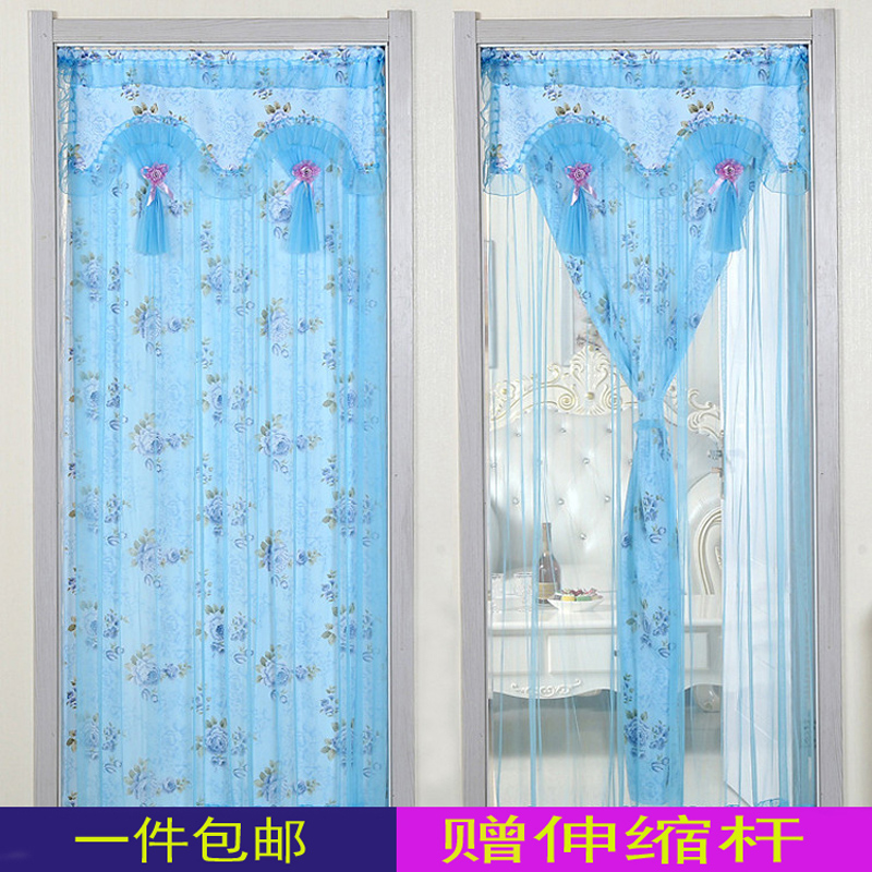 布艺 ponyva az új kétszárnyú hálószoba csipkés előszobában le a függöny a függöny félig nagato ponyva