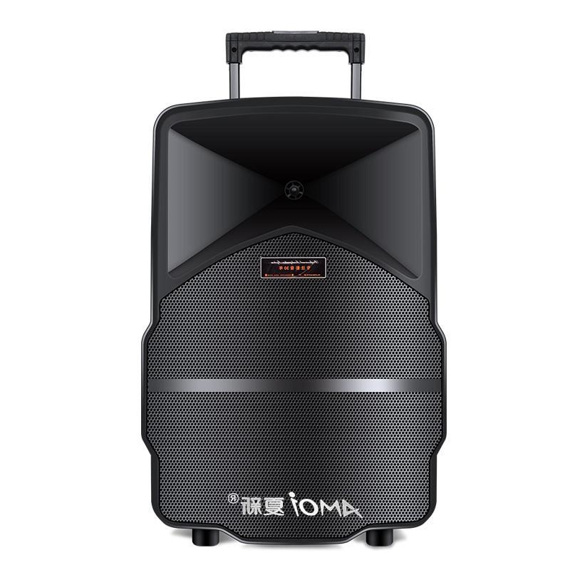Novo SOM 15 inch square dance hot rod de carga Ao ar Livre caixa de SOM subwoofer Bluetooth