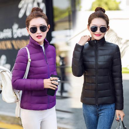 圆通短款小棉袄宽松棉衣女2017冬装新款女装女士外套棉服韩版冬季