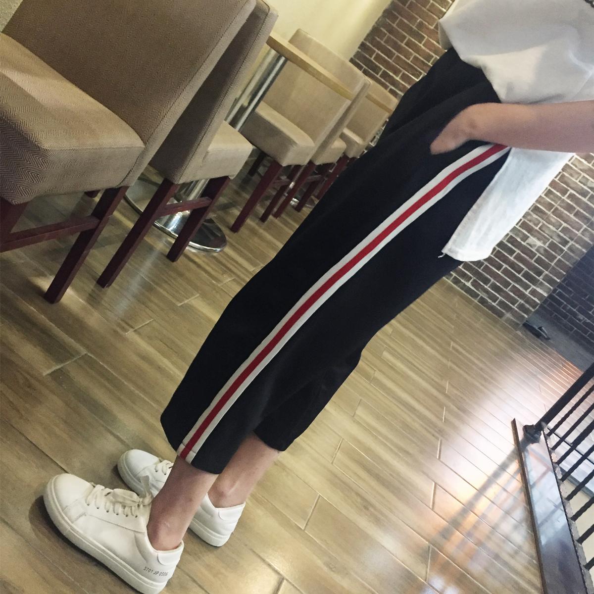 阔腿裤女夏九分裤韩版