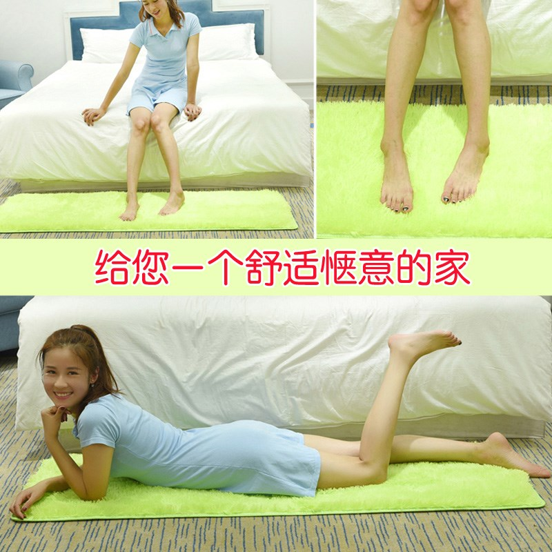 Baby falling hair tatami mat children bedroom bed covered with a blanket rectangular pile carpet