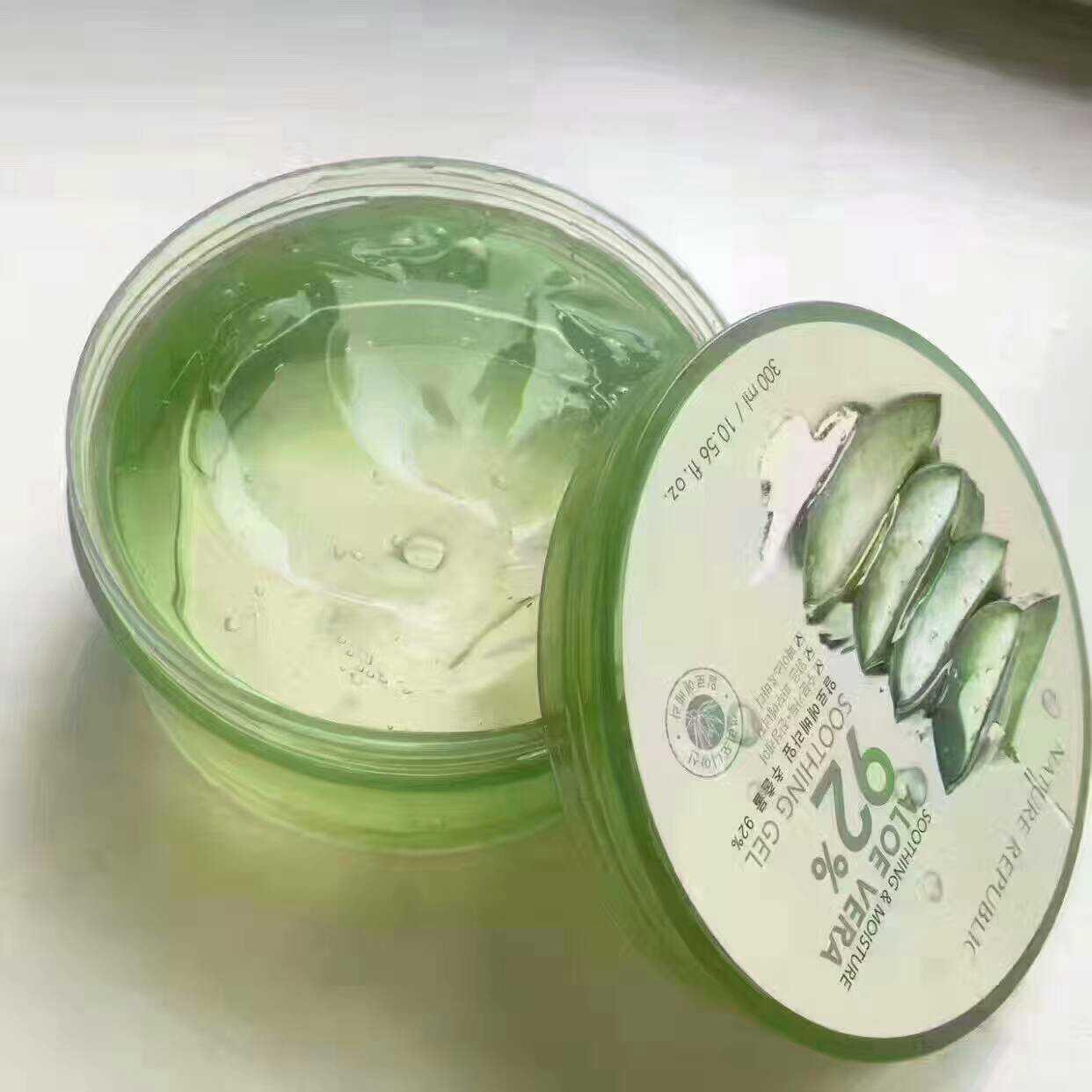 Korean genuine NatureRepublic natural paradise, aloe glue, water and acne removing mask