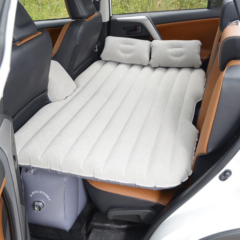 A6L Audi Q5 white gold A4L car inflatable bed pad, back row bed, rear seat air cushion, car shock bed