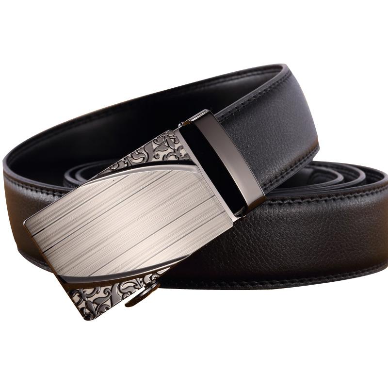 Hebilla de cinturón de cuero de bloqueo automático de 8 caracteres de acero inoxidable anti - alérgica de alto grado de cinturón de hebilla de cinturón de clips de 35 hombres