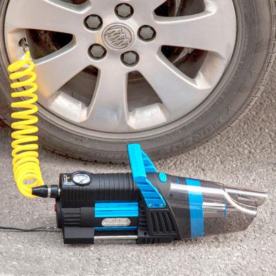maşină pompa de aer de aspirator electric de înaltă tensiune cu doi cilindri de 12 suv mare pompa
