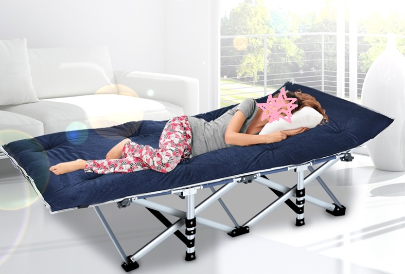Folding bed, single nap bed, double office lunch bed, simple 1.2 meter child sitting chair, multifunctional bed
