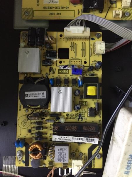 L32F3300B zasilania płyty oryginalnego 40-P061C2-PWE1XG tcl telewizor lcd