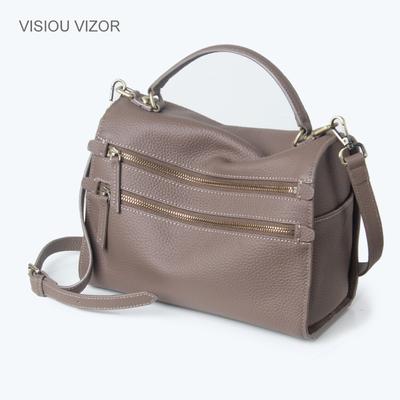 包包2016新款真皮手提包欧美时尚单肩斜跨女包休闲百搭波士顿包