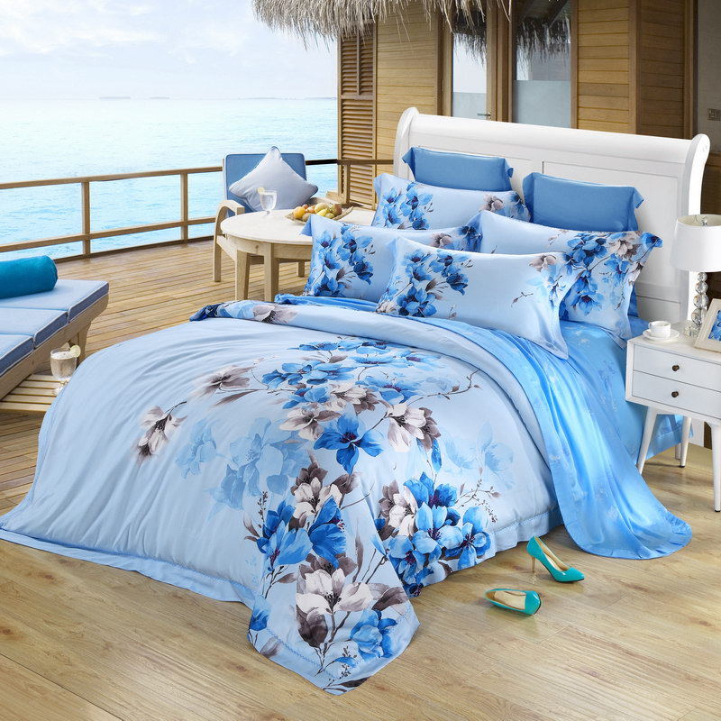 Una serie di Quattro Pezzi di SETA in Primavera e in Estate, Le lenzuola trapunta autentico sostegno duplice 60 metri 1.5/1.8m2 a letto.