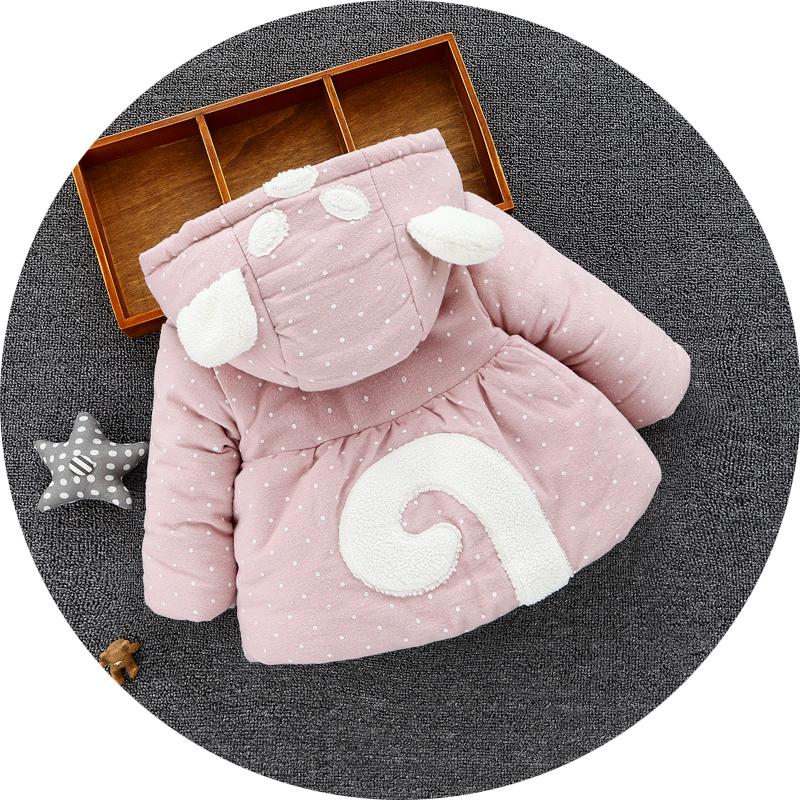 2017秋冬款女宝宝秋冬装新款女童冬季棉袄童装外套棉衣0-1-2-3岁