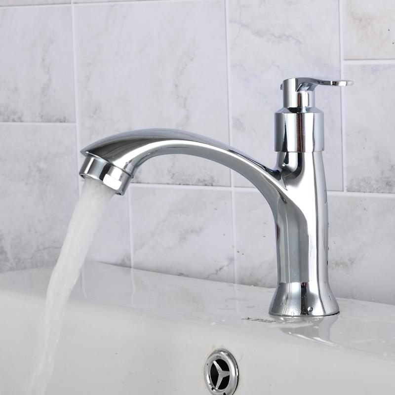 Basin faucet wash basin basin washing pool ceramic single hole copper ceramic valve core faucet