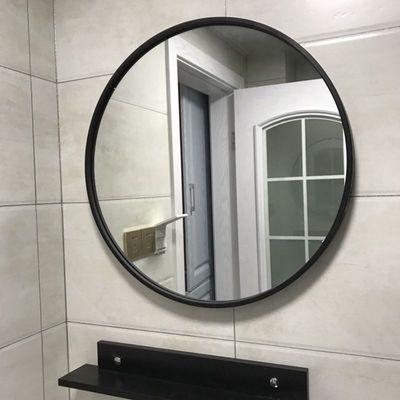 顺丰包邮壁挂镜圆形镜子化妆镜浴室镜圆镜装饰镜试衣镜挂镜创意镜