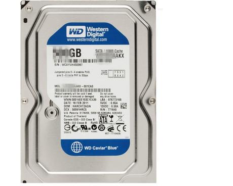 Еще 160 320 г/500 г/последовательный жесткий диск Western Digital WD80g настольного компьютера SATA3.5
