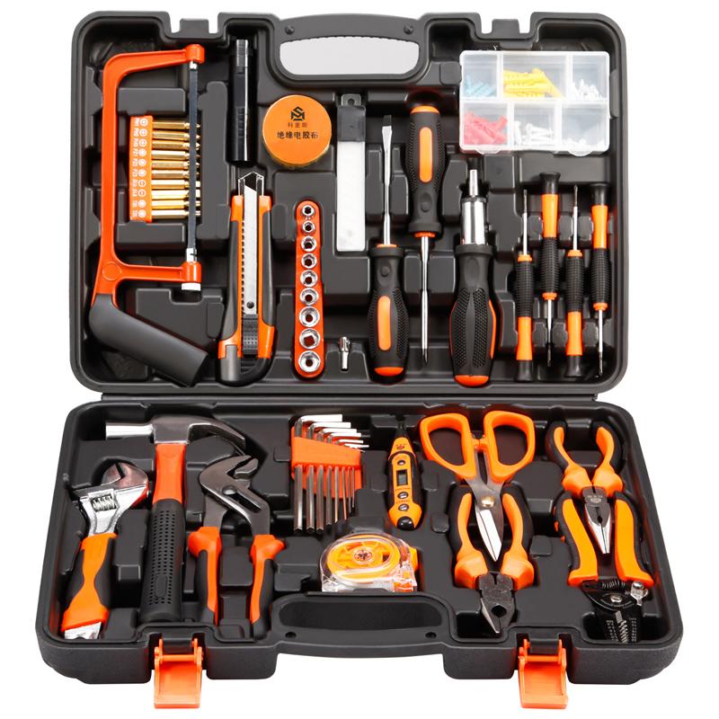 La combinazione di Famiglia degli attrezzi manutenzione Hardware Multi - funzione rivestiti di strumenti Elettrici, accusato di una serie di perforazione.