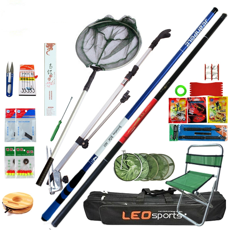 As the 1.3 shore throwing raft pole set raft fishing rod ice fishing rod soft tail cutting stem pole boat