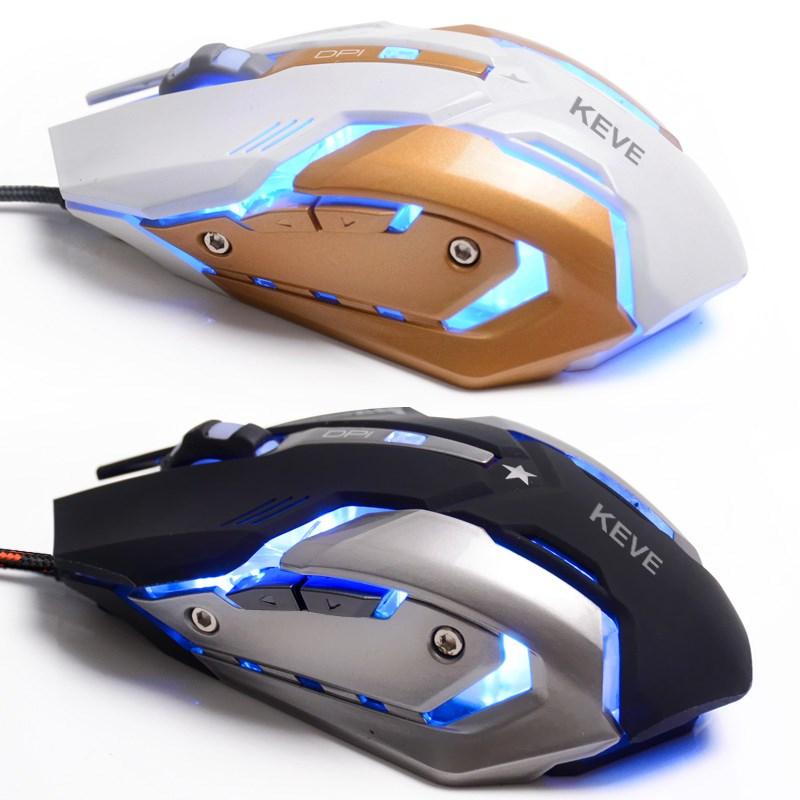 șasiu de metal de culoare respiră lumina wrangler 3 maşini mai mut e tăcut de cablu - mouse - ul joc