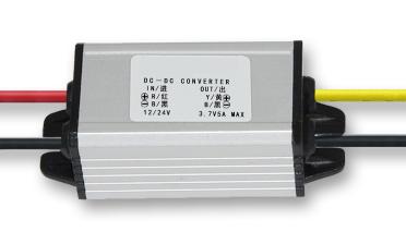 12V to 3.7V, 12V to 3.7V, 12V down to 3.7V, variable voltage, buck converter, on-board power module 4A aluminum shell