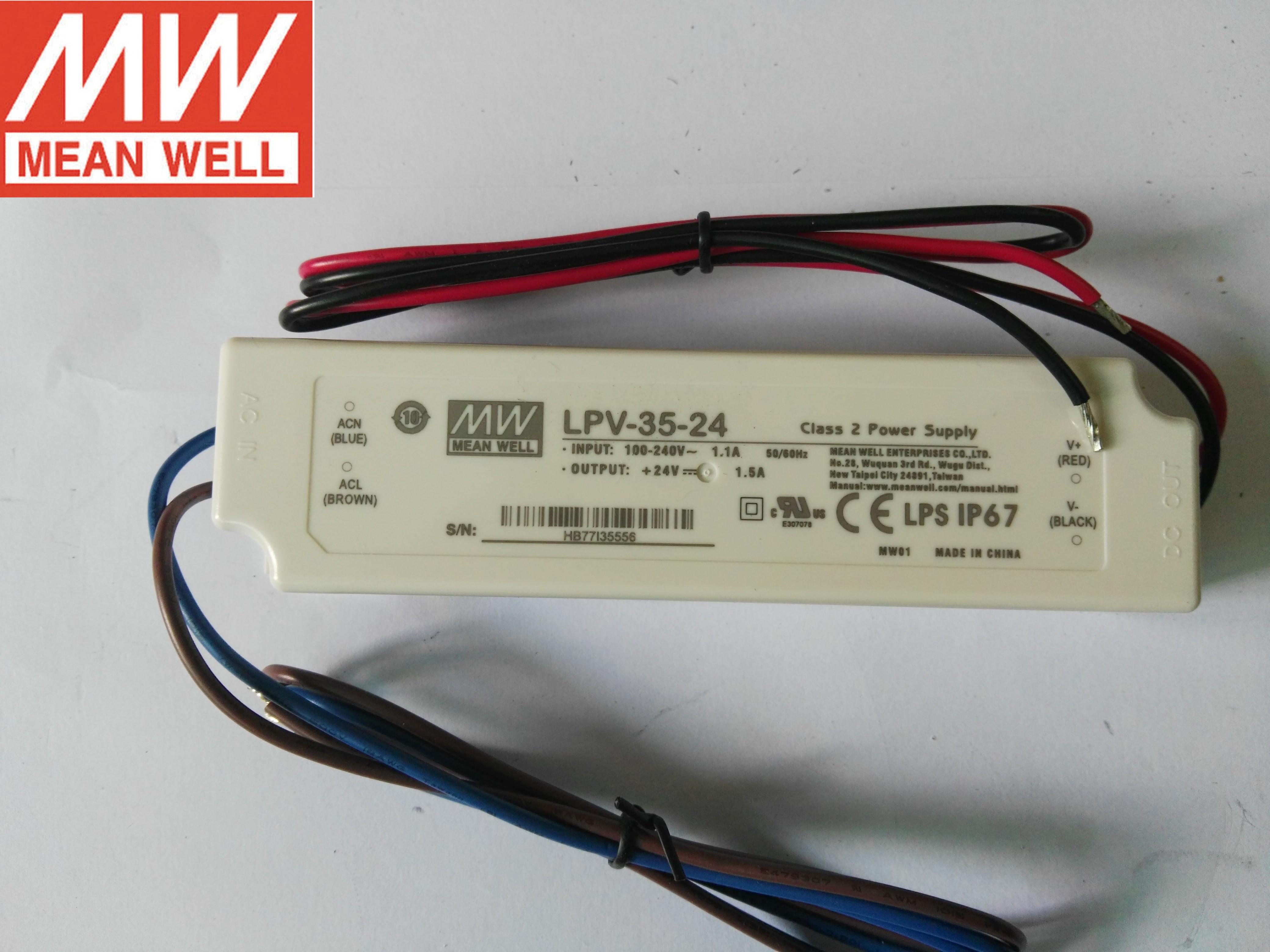 Meanwell stromversorgung LPV-35-12LPV-35-24LPV-35-48 meanwell schaltnetzteile