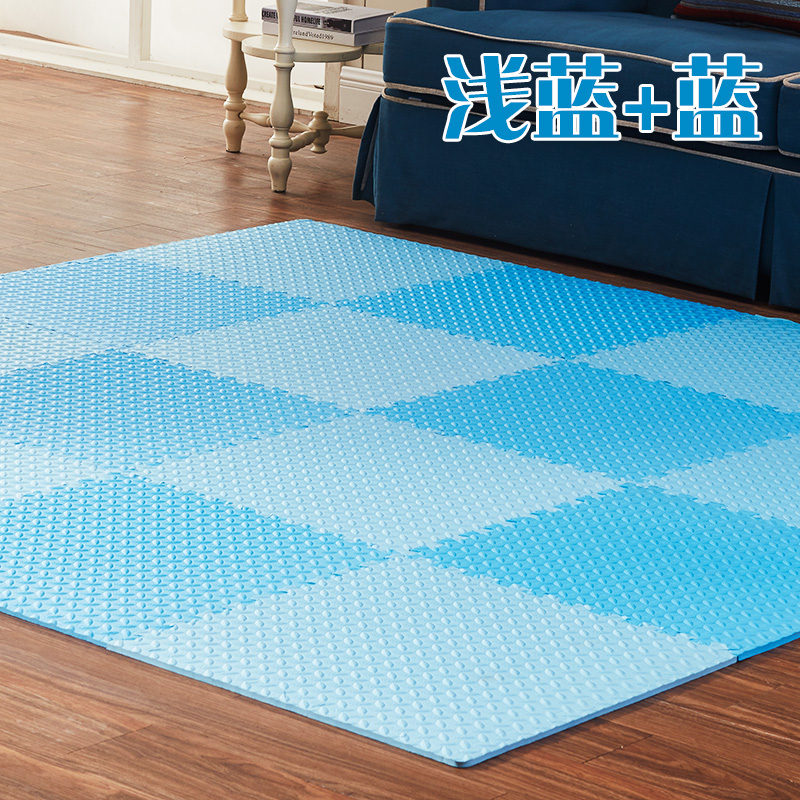 Children bedroom floor puzzle baby pad 6060 thick stitching foam mats tatami