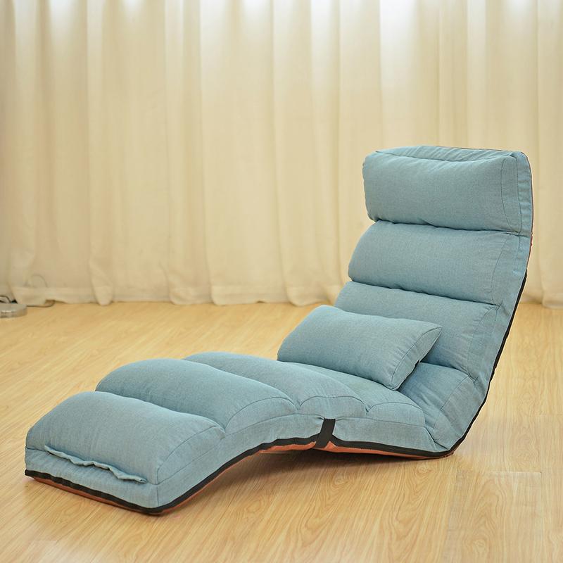 Το μικρό καναπέ - κρεβάτι βαμβάκι, λινό ύφασμα να μπορούν να πλένονται τεμπέλης πτυσσόμενο καναπέ - κρεβάτι ένα παράθυρο δωμάτιο τατάμι