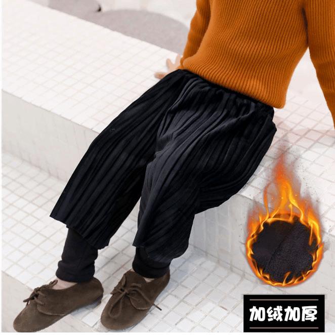秋冬新款童装打底裤子