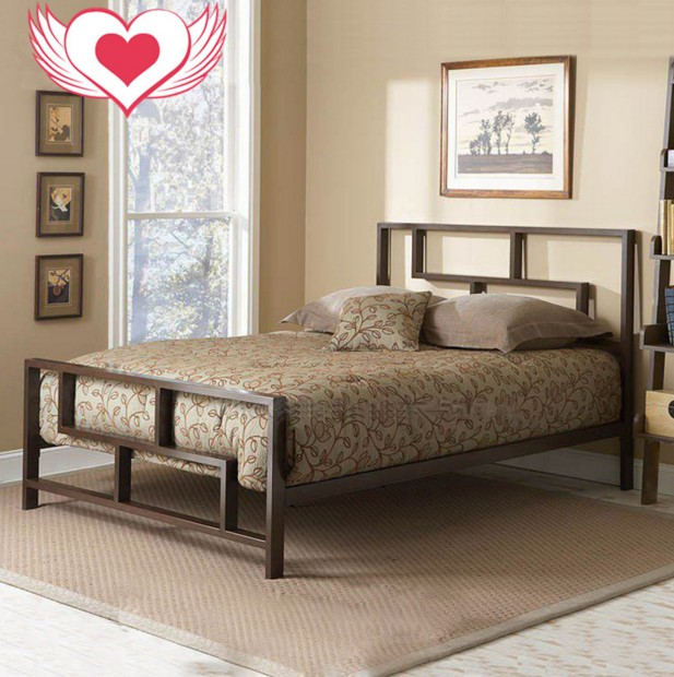 Special offer shipping beds double 1.5 meters 1.8 meters 1.2 meters iron bedstead children bed