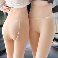高腰光腿神器女加绒假透肤肉色打底裤外穿肤色秋冬连裤袜显瘦加厚