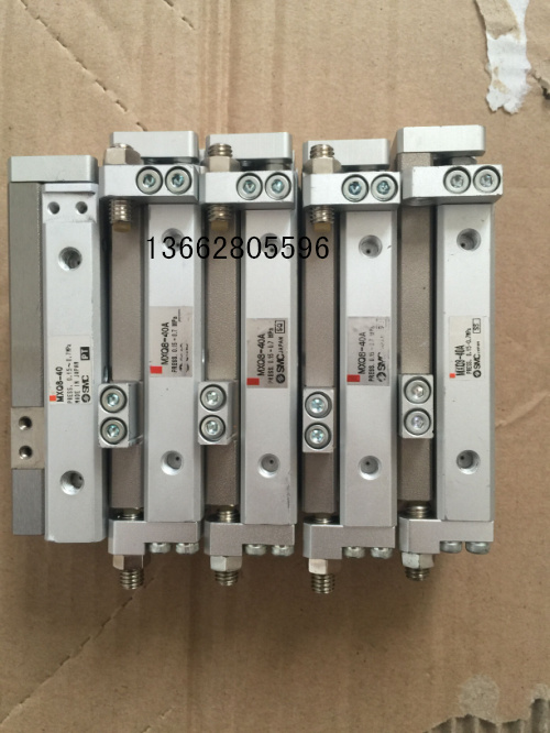 Special supply 9 into new SMC second-hand pneumatic slide cylinder MXQ8-40MXQ8-40ASMXQ8-40A