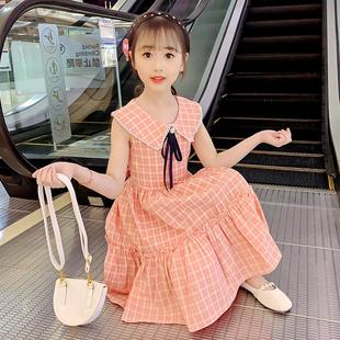 女童连衣裙夏装儿童洋气公主裙中大童裙