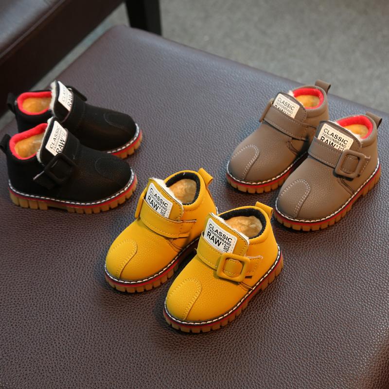儿童棉鞋冬季宝宝雪地