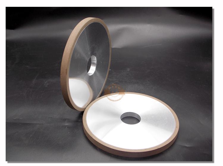 平行樹脂ダイヤモンドホイール150 / 32 / 10 / 10 / 5、硬合金鋼
