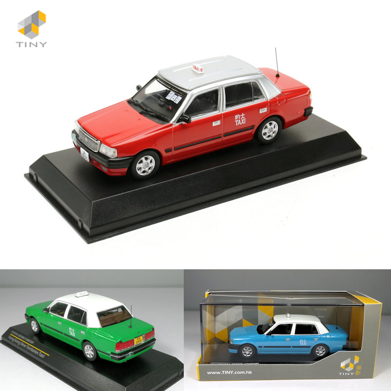 TINY 微影 1:43 丰田皇冠香港的士出租车合金模型 Toyota Crown