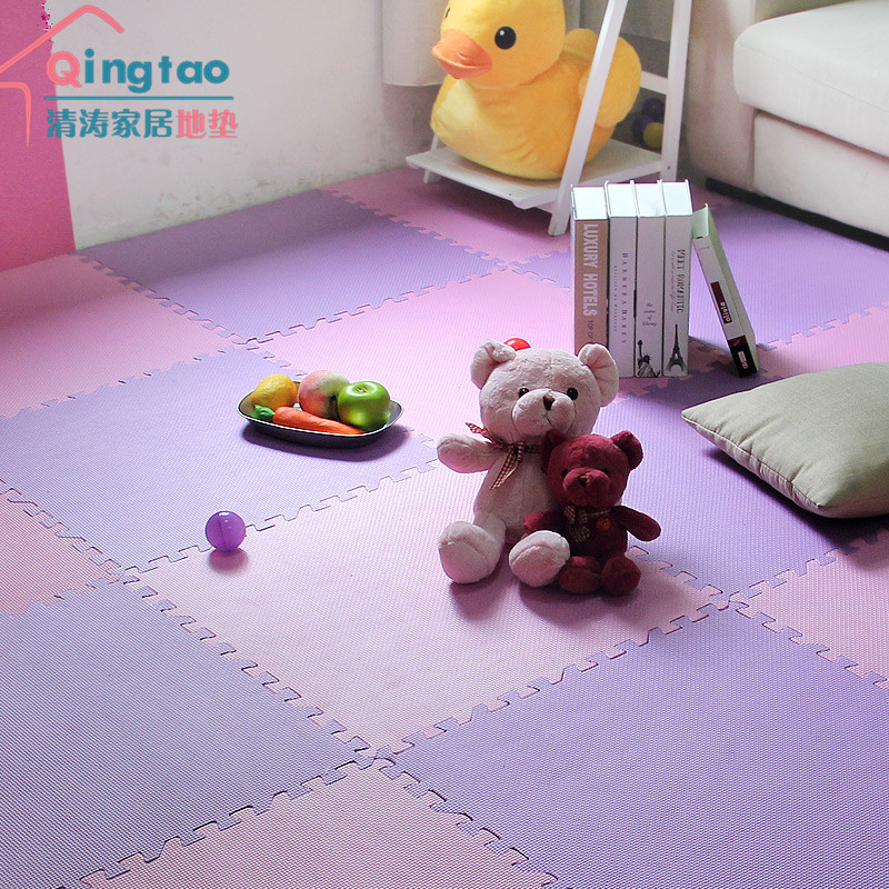 Moisture-proof bag mail stitching foam mats 60*60*0.8cm crawling pad plastic tatami room kindergarten
