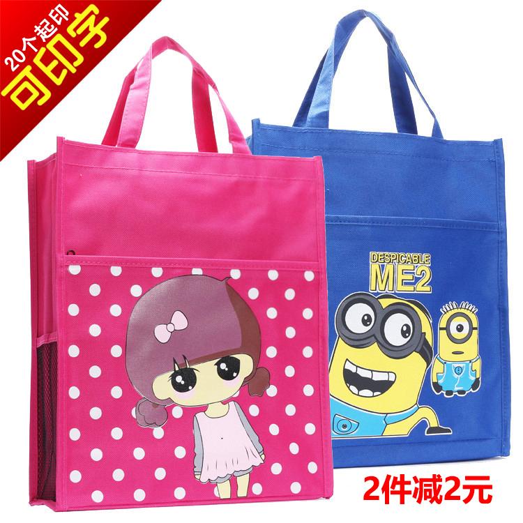 Lona à prova d'água sacola de sacolas saco sacolas de maquiagem bolsa de escola primária e secundária bolsa de arte mala pequena bolsa