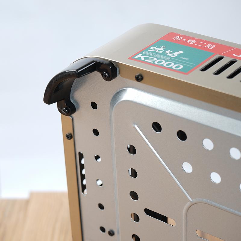Ким k2000 портативный лесополоса барбекю бытовых, коммерческих открытый газовая плита с газовой печи на местах выпечки