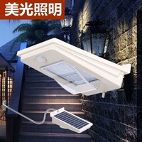 City street lamps light wall outdoor lights installed solar panels Automatic Yard courtyard lamp solar lamps for household use