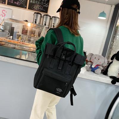 日版古着书包女韩版原宿ulzzang大高中学生旅游双肩包女电脑背包