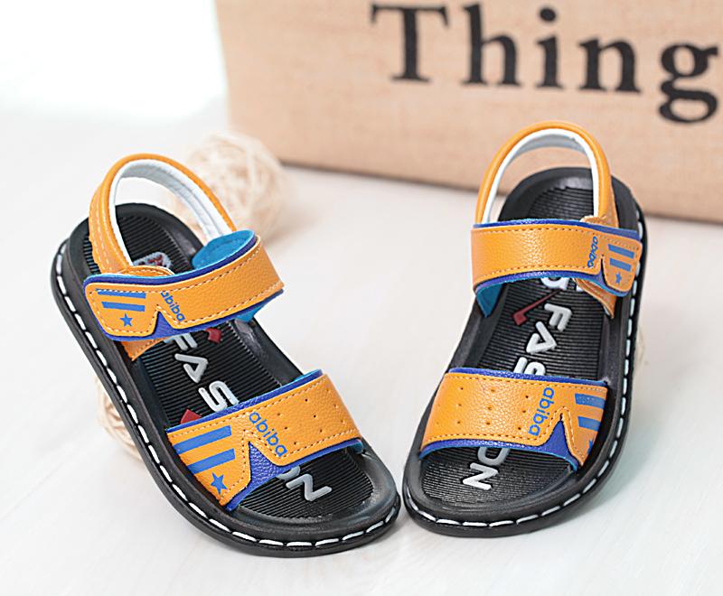 男童凉鞋2017夏季新款儿童沙滩鞋中大童韩版休闲学生凉鞋软底凉鞋