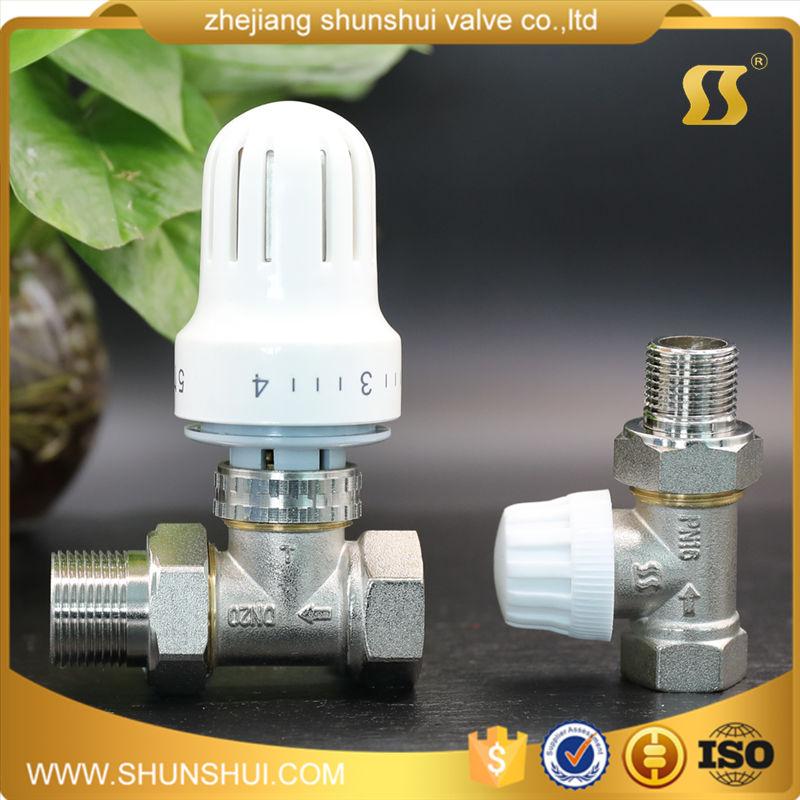 [] Automatisch neUe Winkel / Direkt an ventilen für Kupfer kühler temperatur heizkörper ventile Kupfer