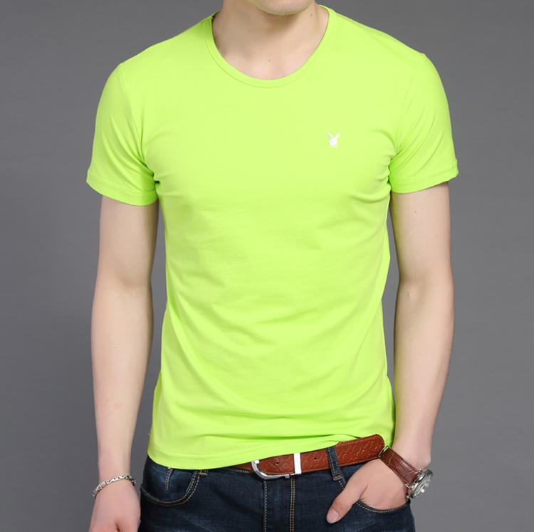 圆领单领荧光绿