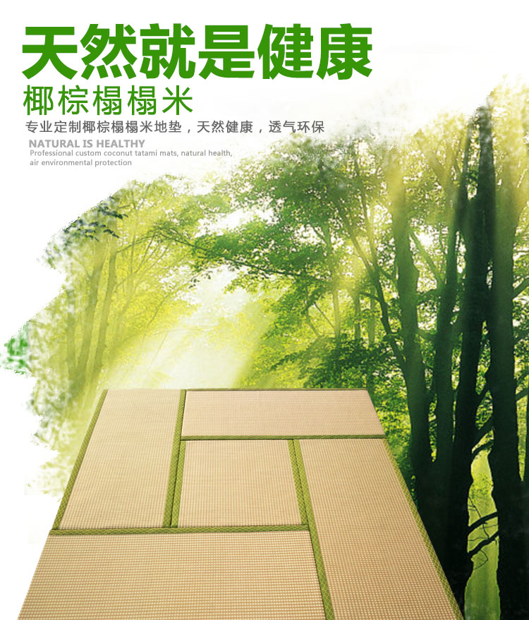 Japanese tatami mattress pad custom bedroom living room tatami multifunctional mattress pad for single children tatami mats