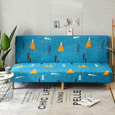 通用沙发床套无扶手沙发套折叠沙发床套子弹力沙发罩沙发巾沙发垫