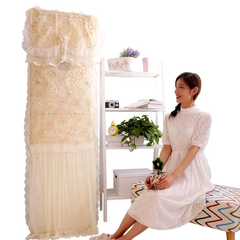 Air conditioner vertical cloth dust cover set of 2 Korean 3 horsepower set