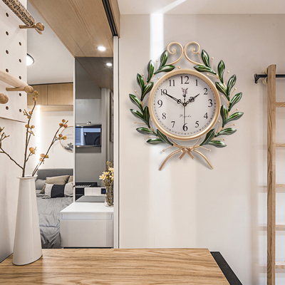 Wall Clock American style living room creative bedroom home large quartz clock