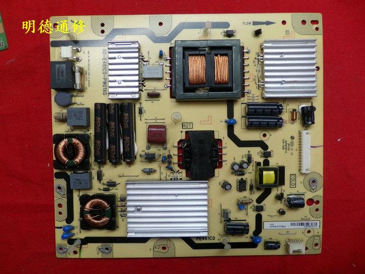 TCLL55V7300A-3D LCD TV 40-E461C0-PWG1XG oorspronkelijke energiebron.