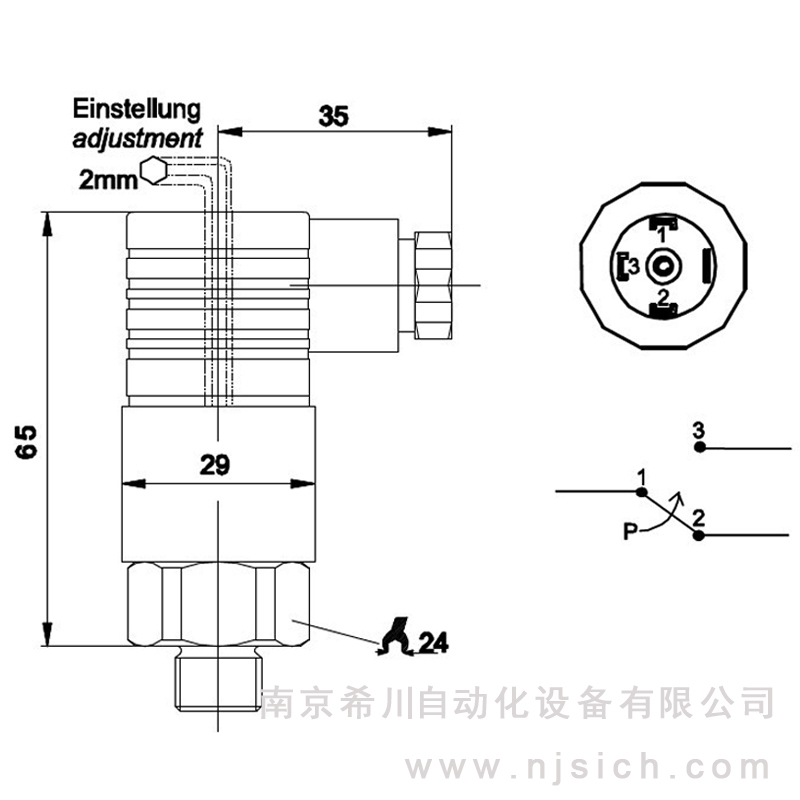 [advantage supply] V4 series mechanical pressure switch, adjustable pressure switch, hydraulic pneumatic switch