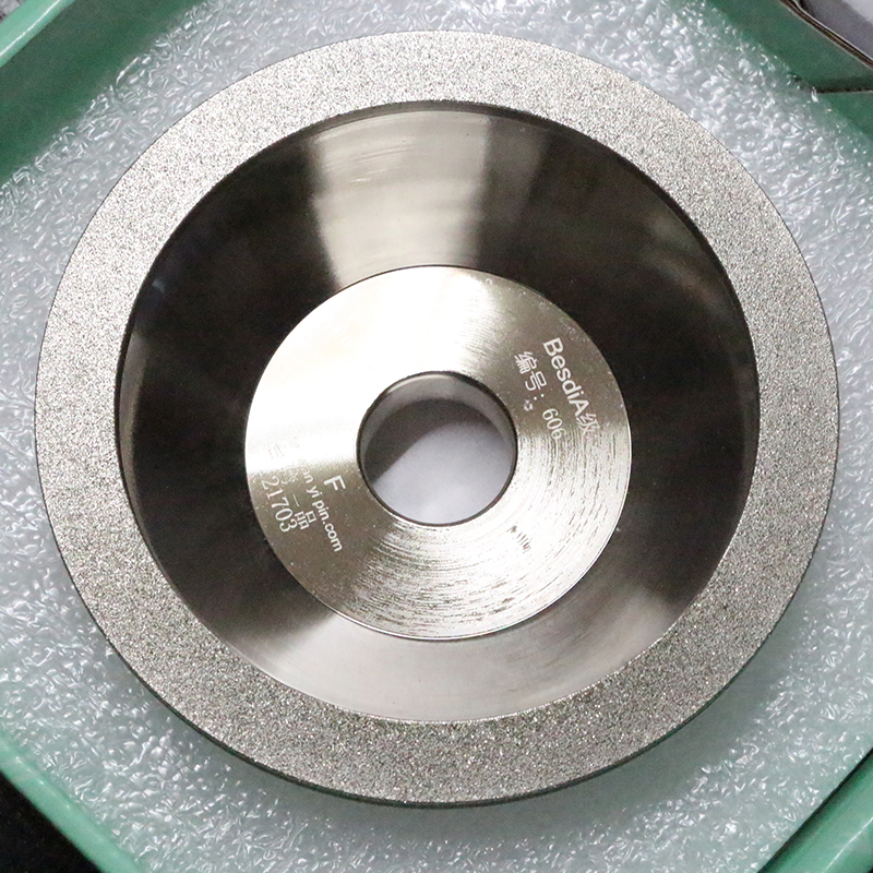 Diamond alloy bowl type grinding wheel universal grinding wheel diamond tungsten steel grinding machine 100D