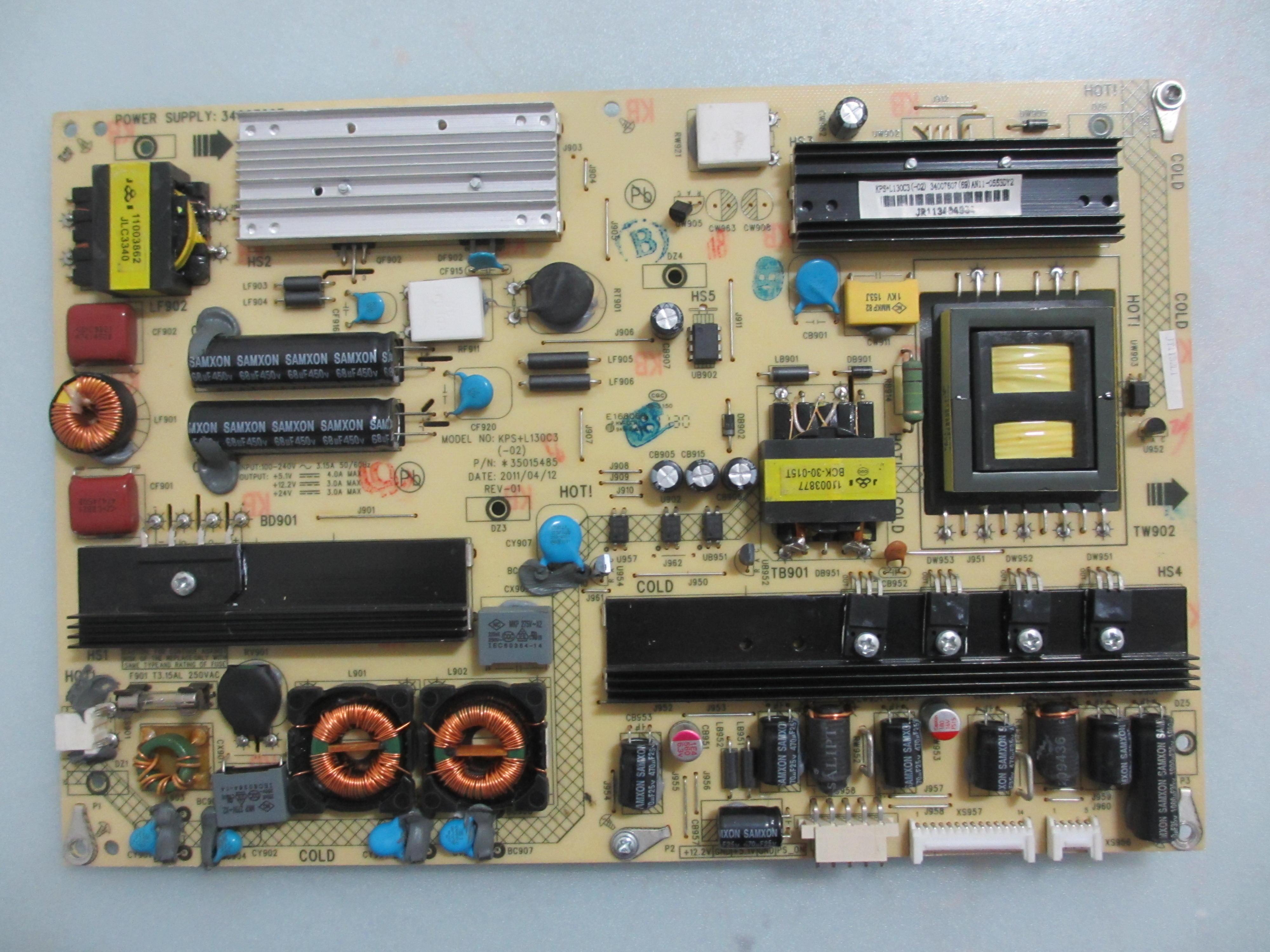 Original zerlegen konka LED32MS91C 3400760735015485 LCD - TV macht.