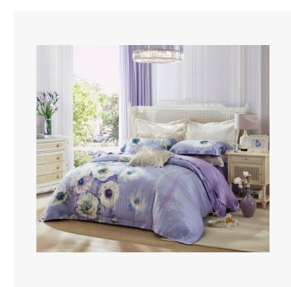 Brand textile bedding new spring and summer 2017 TS7131-4 sing Tencel four piece
