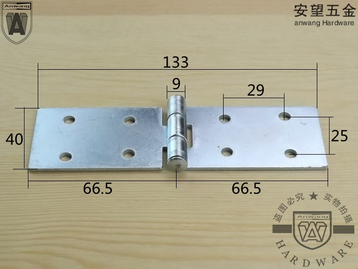 Thickening galvanized, turn over hinge, table hinge, table type hinge table, round table hinge, folding table hinge parts